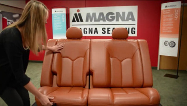 Video: Magna redefines rear seats for sedans