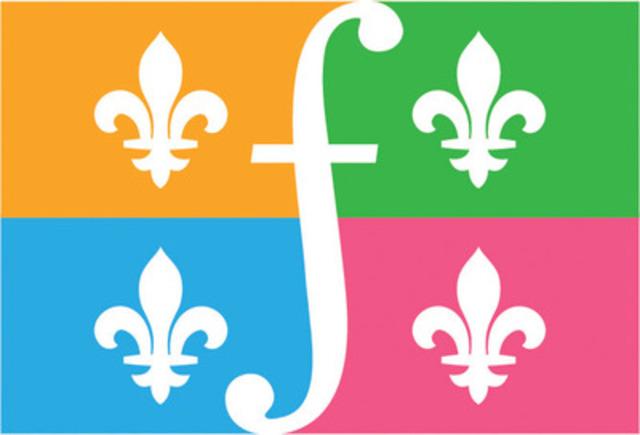 Nouveau symbole tout québécois pour souligner la Journée internationale de la Francophonie. (Groupe CNW/MOUVEMENT NATIONAL DES QUEBECOISES ET QUEBECOIS)