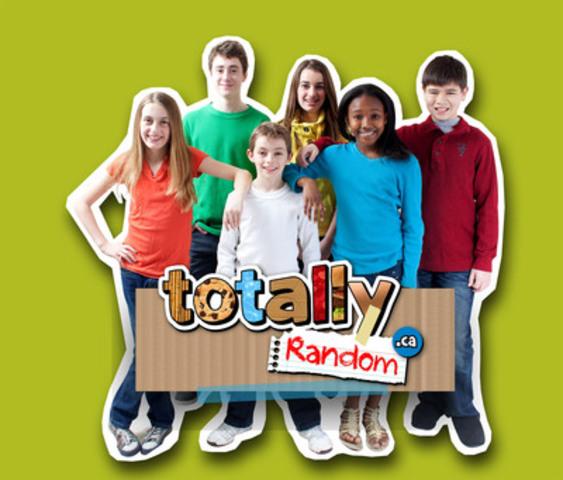 Totally Random Hosts & Kids; (from left) Jayden, Jason, Mason, Ryley, Umu & Grant (CNW Group/Mountain Road Productions)