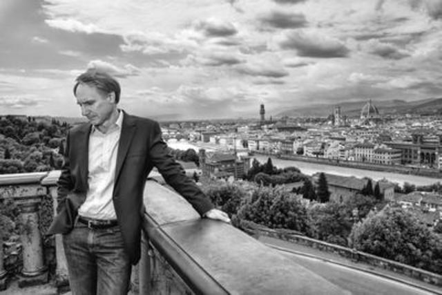 Author Dan Brown. Photo credit: Claudio Sforza (CNW Group/Penguin Random House Canada Limited)
