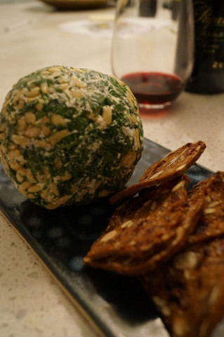 On the fourth day of Christmas my true love gave to me: a no-cook cheese ball. What's old is new again. This 70's inspired cheese ball is a party hit, every time. The only challenge with this recipe is trying to not eat it all before guests arrive! torontohydro.com/holidays (CNW Group/Toronto Hydro Corporation)