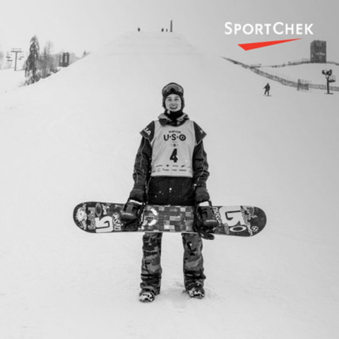 Snowboarding world champion and X Games gold medalist, Mark McMorris, joins seven other Olympic hopefuls on Team Sport Chek. (Photo credit: Gabe L'Heureux) (CNW Group/FGL Sports Ltd.)