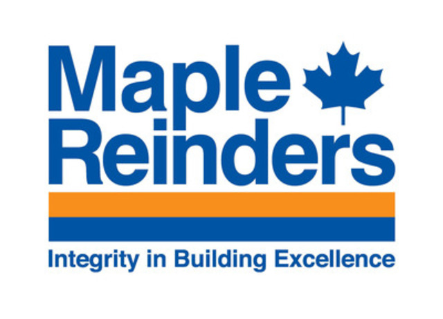 Maple Reinders -? Integrity in Building Excellence  (CNW Group/Maple Reinders)