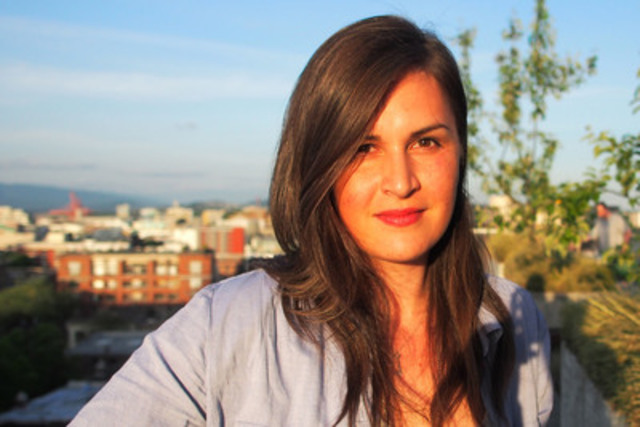 Chantelle Bellrichard is the recipient of the inaugural CJF Aboriginal Journalism Fellowship. (CNW Group/Canadian Journalism Foundation)