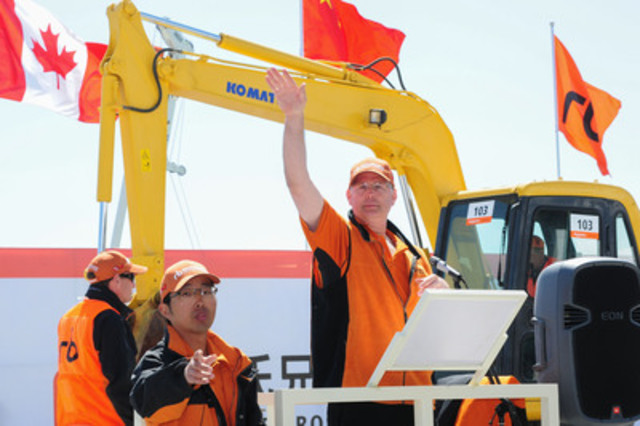 Ritchie Bros. held its first ever unreserved auction in China on April 18, 2013. (CNW Group/Ritchie Bros. Auctioneers)