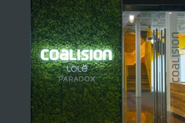 Le nouveau siège social de Coalision Inc., situé dans les espaces de la Gare Viger (Groupe CNW/Coalision)
