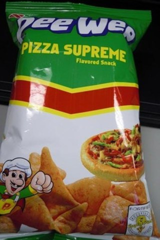 Pee Wee Pizza Supreme front label (CNW Group/Canadian Food Inspection Agency (CFIA))