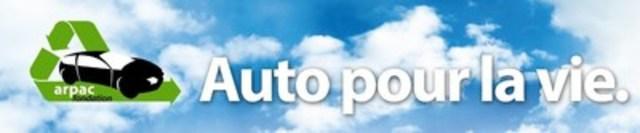 Logo : Fondation ARPAC - Auto pour la vie. (Groupe CNW/ARPAC)