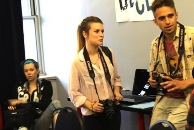 Photos de jeunes: Déclic accompagne, éduque et scolarise les jeunes avec de grandes difficultés (Groupe CNW/Déclic)