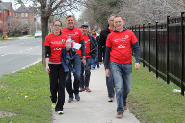 Hike for Hospice: Saint Elizabeth Corporate employees joined their colleagues from coast to coast in raising ...