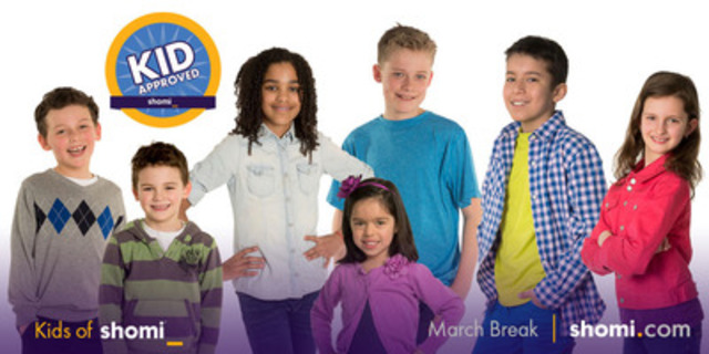 What to view when you're out of school? shomi's pint-sized programmers created three custom-curated collections for March Break (CNW Group/shomi)