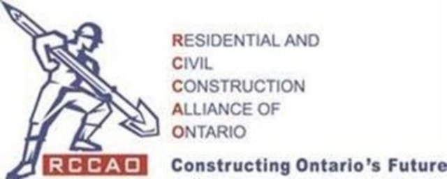 RCCAO (CNW Group/Residential and Civil Construction Alliance of Ontario)