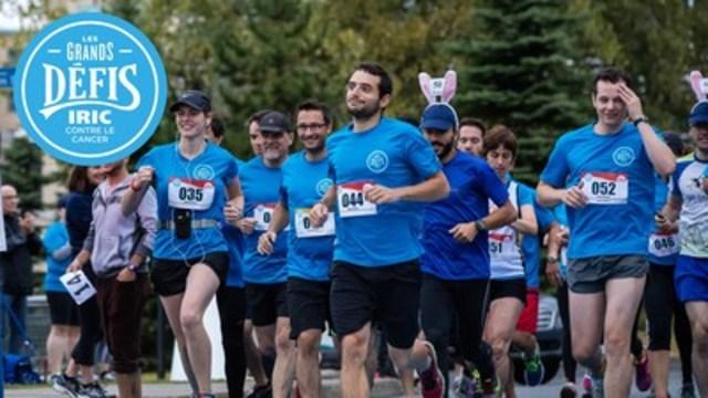 Cyclistes, coureurs, marcheurs sont invités à participer à la 7e édition des Grands Défis IRIC contre le cancer, présentée par l'Institut de recherche en immunologie et en cancérologie (IRIC) de l'Université de Montréal, et faire le tour du Mont-Royal le 10 (pour les cyclistes) et le 11 (pour les coureurs et marcheurs) septembre 2016. Tous les fonds amassés seront intégralement versés à la recherche contre le cancer. (Groupe CNW/Institut de recherche en immunologie et en cancérologie de l'Université de Montréal)