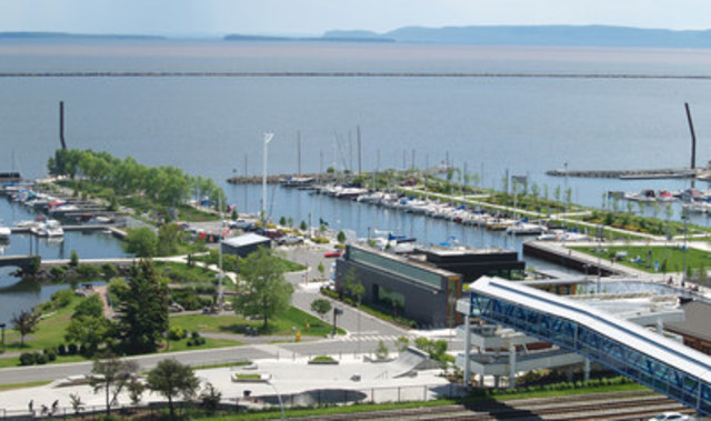 Prince Arthur's Landing, Thunderbay, Ontario (Groupe CNW/Institut canadien des urbanistes)