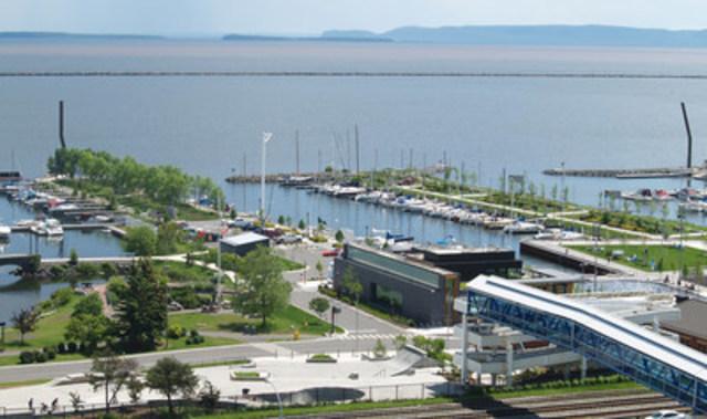Prince Arthur's Landing, Thunderbay, Ontario (Groupe CNW/Institut canadien des urbanistes)