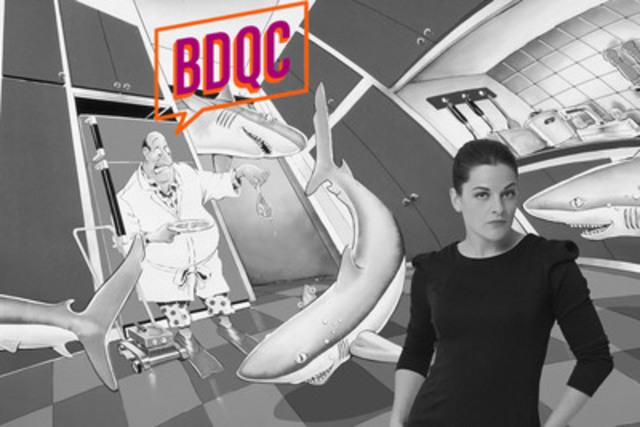 BDQC propose un voyage éclaté dans le monde fascinant de la bande dessinée québécoise et plonge le spectateur dans les univers des auteurs. Présenté par Sophie Cadieux, chaque épisode trace le portrait d'un artiste et explore ses thèmes de prédilection, ses sources d'inspiration, son approche graphique et sa démarche artistique. (Groupe CNW/ARGUS Films)