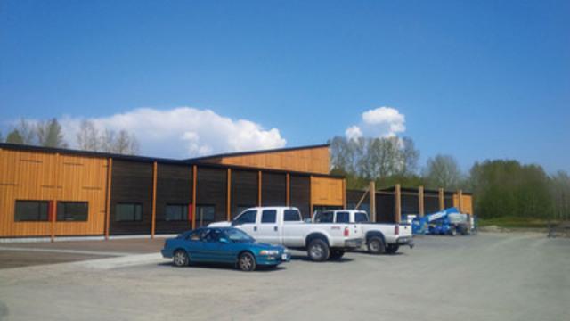 La Première Nation de Matsqui, en Colombie-Britannique, se prépare à accueillir ses membres dans son propre centre communautaire. (Groupe CNW/RBC Banque Royale)