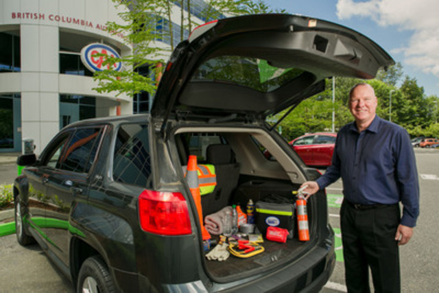 BCAA's Summer Road Travel survey shows that over half of B.C. motorists plan to take a driving vacation this summer but many could do more to ensure a safe trip. Ken Cousin of BCAA Road Assist shares tips to help road travellers prepare and stay safe. (CNW Group/British Columbia Automobile Association)