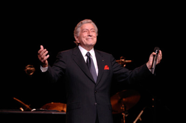 Multiple Grammy Award winning musical icon Tony Bennett will appear August 1st & Aug 2nd at the spectacular outdoor amphitheatre at Mission Hill Family Estate winery in the Okanagan Valley. (CNW Group/Mission Hill Family Estate)