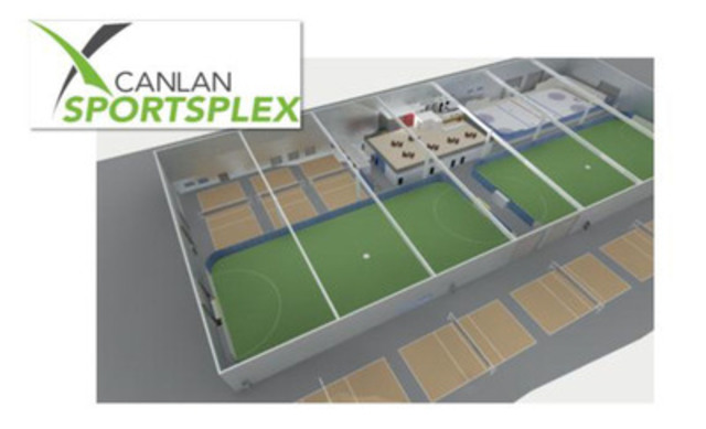 Artist rendition of Canlan Sportsplex - Mississauga. (CNW Group/Canlan Ice Sports Corp.)