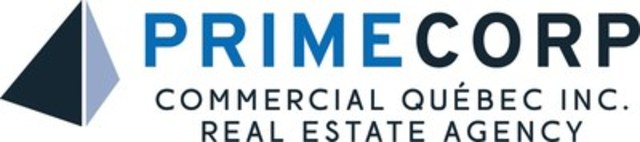 Primecorp Commercial Québec Inc., Real Estate Agency Logo (CNW Group/Primecorp Commercial Québec Inc., Real Estate Agency)