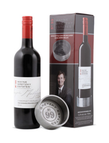 Day 10 - Wayne Gretzky Cabernet Merlot VQA Gift Box with coaster (CNW Group/LCBO)