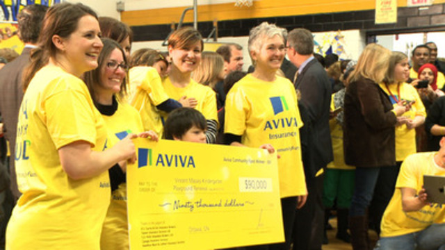Video: Announcing the winners of the 2013 Aviva Community Fund competition