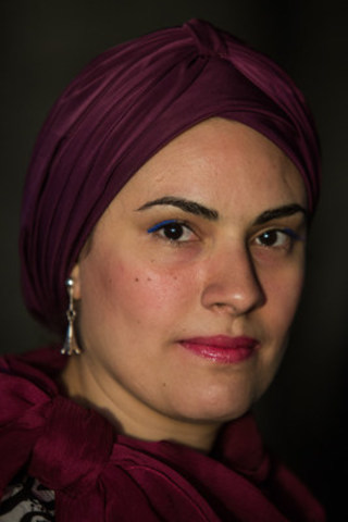 Eman Helal, Winner of the Portenier Human Rights Bursary, 2016. (CNW Group/Canadian Journalism Forum on ...