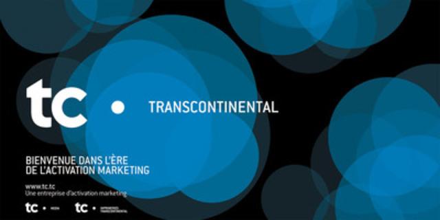 TC. Transcontinental affiche ses nouvelles couleurs (Groupe CNW/TRANSCONTINENTAL INC.)
