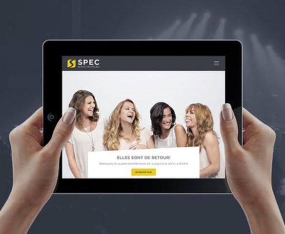 Kryzalid signe le nouveau site web de la SPEC (Groupe CNW/Kryzalid)