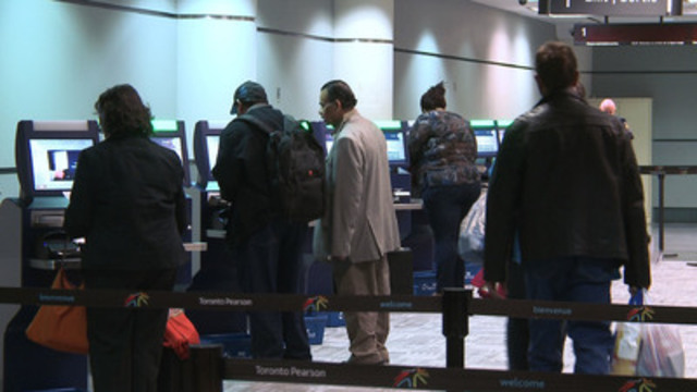 Video: CBSA Welcomes Home Canadians and Permanent Residents with new ABC Kiosks at Terminal 3 at Toronto Pearson International Airport
