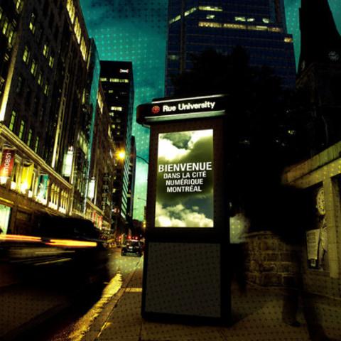 Nouveau réseau de Colonnes Digitales à Montréal (Groupe CNW/Astral Media Inc.)
