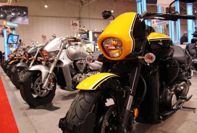 The Motorcycle Show-Toronto, at the  Enercare Centre, Exhibition Place, February 19-21, features the industry's biggest brands, their newest models, and the latest technical innovations for motorcycles, ATVs, side-by-sides and scooters, along with riding gear, accessories and travel destinations. In additional to the more than 500 bikes on display, there are thrilling stunt shows, beginner riding lessons for children, a special night for female riders, and two big draws for new motorcycles. (CNW Group/The Motorcycle Show-Toronto)