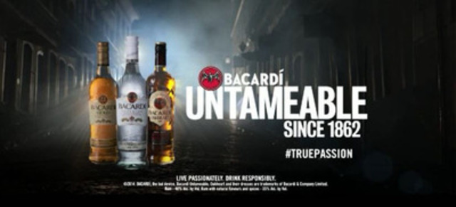 30 Second Television Spot for global 'BACARDI Untameable Since 1862' marketing platform launching today in Canada.