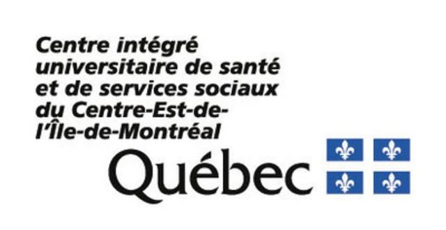 CIUSSS du Centre-Est-de-l'Île-de-Montréal. (Groupe CNW/CIUSSS du Centre-Est-de-l'Île-de-Montréal (Centre intégré universitaire de santé et de services sociaux du Centre-Est-de-l'Île-de-Montréal))