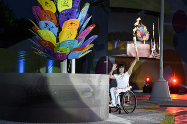 TO2015 présente la cérémonie d'ouverture des plus grands Jeux parapanaméricains à ce jour (Groupe CNW/Jeux pan/parapanaméricains de Toronto 2015)
