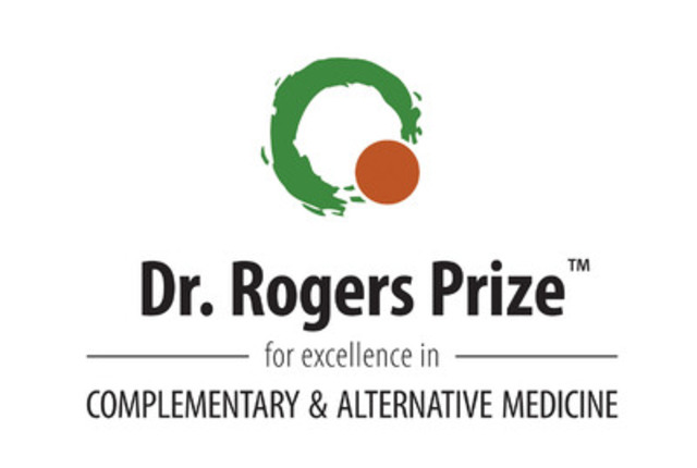 Dr. Rogers Prize (TM) for excellence in COMPLEMENTARY & ALTERNATIVE MEDICINE (CNW Group/DR. ROGERS PRIZE)