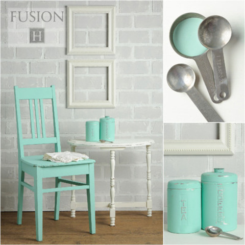 Discover the colours found in Fusion, a new line of mineral based furniture paint, perfect for your home decor. (CNW Group/Homestead House Paint Co. Inc)