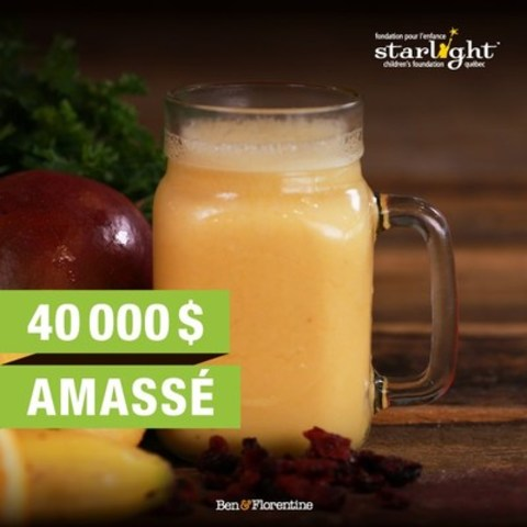Smoothie Starlight (Groupe CNW/Ben & Florentine Restaurants Inc.)