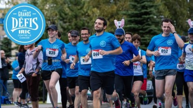 Cyclists, runners and walkers are all invited to participate on a Mount Royal tour, in the 7th Edition of the IRIC Great Challenges against Cancer, presented by the Institute for Research in Immunology and Cancer (IRIC) at Université de Montréal, on September 10 (for cyclists) and 11 (for runners and walkers), 2016. All donations will go in full to the fight against cancer (CNW Group/Institut de recherche en immunologie et en cancérologie de l'Université de Montréal)