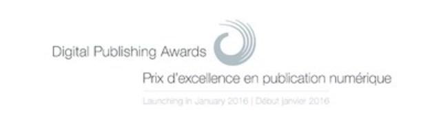 Lancement des Prix d'excellence en publication numérique en janvier 2016 (Groupe CNW/Fondation nationale des prix du magazine canadien)