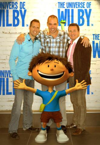 """Des entrepreneurs québécois annoncent la mise en ligne officielle de """"L'Univers de Wilby™"""" (Groupe CNW/WILBY.TV)"""
