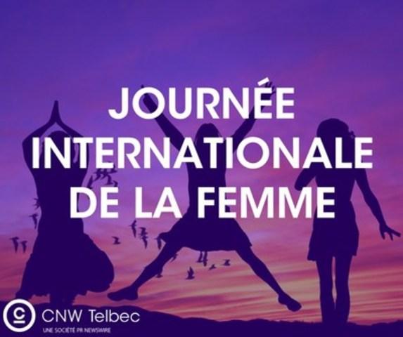 Journée internationale de la femme sur newswire.ca (Groupe CNW/Groupe CNW Ltée)