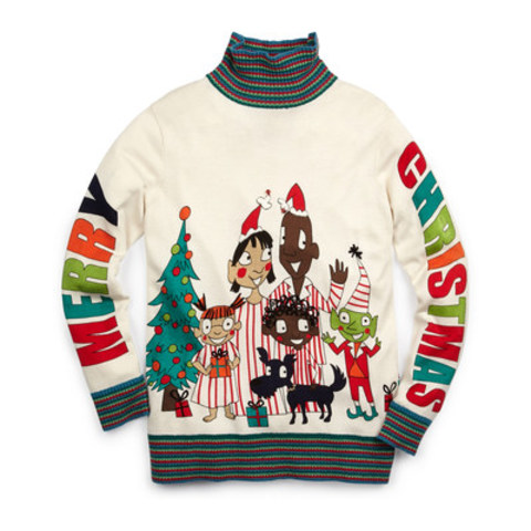 "Whoopi Goldberg's ""All Together Now"" holiday sweater, exclusively at Hudson's Bay beginning November 1 (CNW Group/Hudson's Bay)"