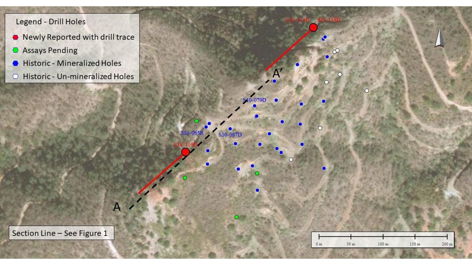 Figure 2 – Drill Location Plan
