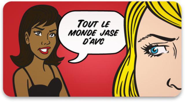 NE SERAIT-IL PAS LE TEMPS D'EN JASER? Une simple conversation peut sauver des vies. (Groupe CNW/FONDATION DES MALADIES DU COEUR DU CANADA)