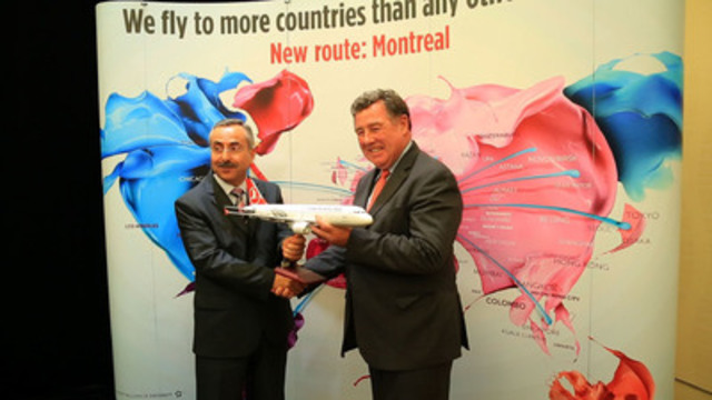 Video: Turkish Airlines launched direct service between Montreal and Istanbul on Tuesday, June 3, 2014.