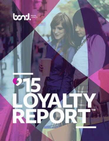 Bond Brand Loyalty 2015 Loyalty Report (CNW Group/Bond Brand Loyalty)