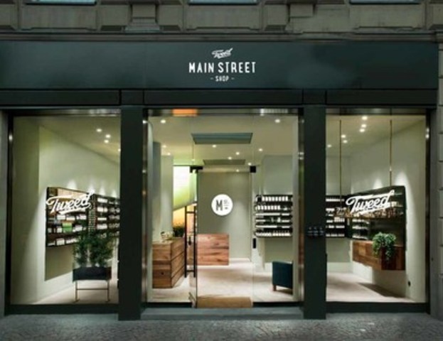 Tweed Main Street locations offer resources and services to existing and prospective medical marijuana patients. Conceptual imagery. (CNW Group/Canopy Growth Corporation)