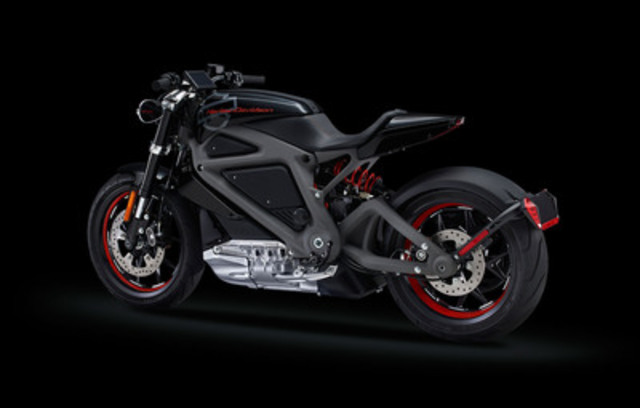 Harley-Davidson's first electric motorcycle, Project Livewire™, makes its first and only Toronto appearance this year at the Motorcycle Show-Toronto, February 20-22 at the Direct Energy Centre, Exhibition Place (CNW Group/The Motorcycle Show-Toronto)